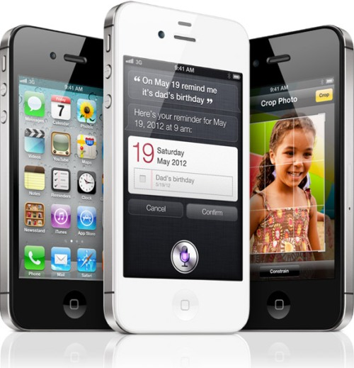Apple released the new iPhone 4S - out on Oct 14